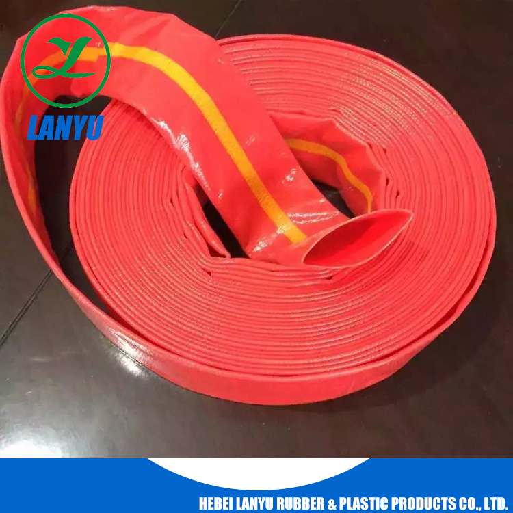pvc layflat hose with high tensile thread