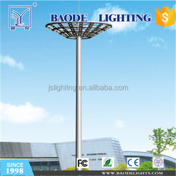 30m High Mast Light for Cricket Field Lighting with Reasonable Price and Q235 Steel Pole