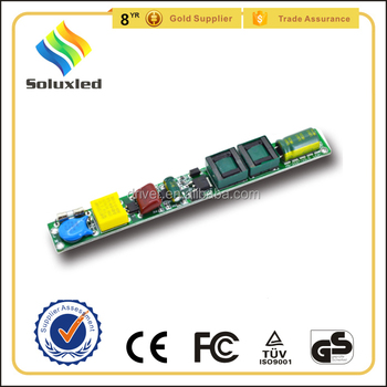 non-isolated 24w tube light led driver pf>0.9