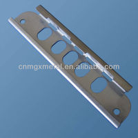Foshan factory OEM Fabrication SUS304 Punching Cuttting Bending Stainless Steel Roof Tube Bracket Metal Stamping Parts