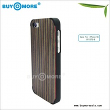 beautiful bamboo plastic protect cover for iphone 5c 100% Nature Bamboo Wooden Case for iphone