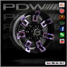 PDW brand 16 alloy, China alloy wheels factory since 1983