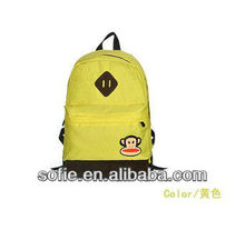 2013 Polyester manufacture backpack cute kids backapck