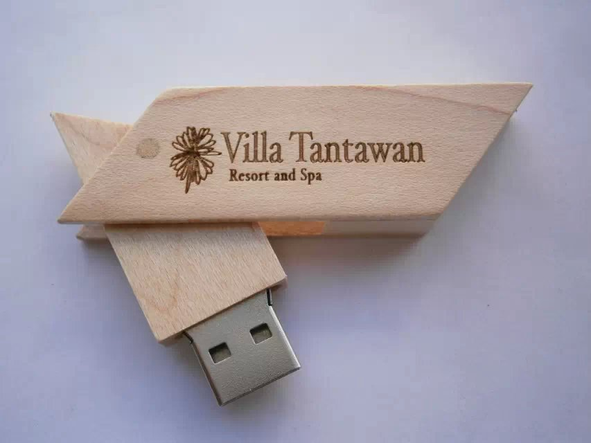 OEM Wood Memory Stick USB 2.0,Customized Gift Wood USB Flash Drive with laser engraving logo