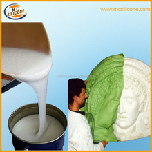 silicone liquid rubber for gypsum plaster cement/craft molds