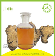 Chinese supplier pharmaceutical grade 100% pure natural Chuanxiong oil for bulk sale with good price