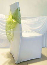 IDA fashion organza spandex chair covers and sashes for sale for wedding and hotel decoration