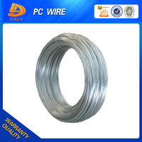Surface galvanized high tensile single pc steel wire