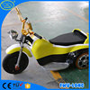 Fiberglass body electric indoor children ride on moto bicycle