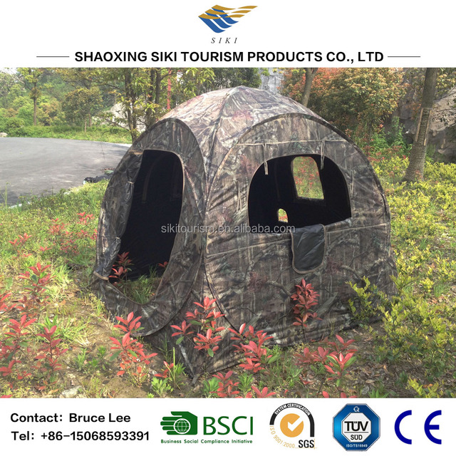 The Doghouse Pop Up Hunting Blind Tent