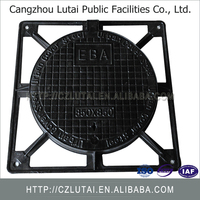 ductile iron casting well Gas Meter Station Petrol Manhole Cover
