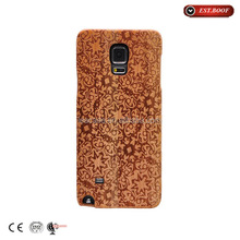 2016 Smart phone genuine wood cover case for samsung galaxy grand