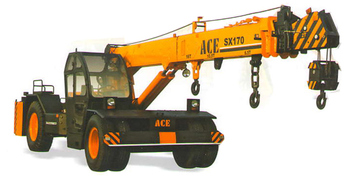 ace sx 170 nextgen hydraulic mobile crane buy ace hydraulic mobile crane product on. Black Bedroom Furniture Sets. Home Design Ideas