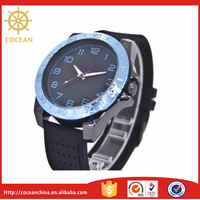 In 2015 Rubber Strap Watch Custom Logo Watches