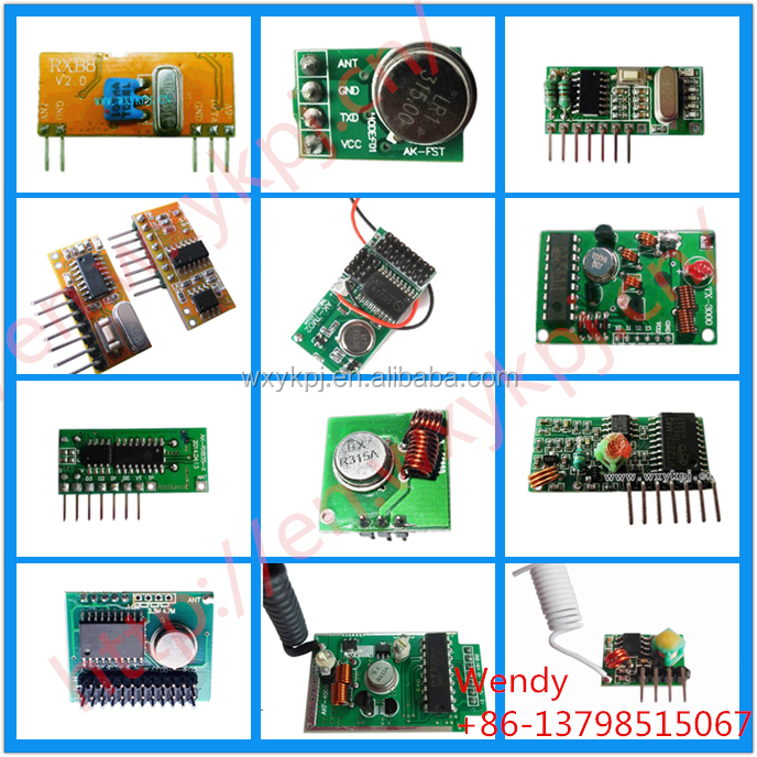 Long Range 433/315Mhz Wireless RF Modules wireless transmitter wireless receiver switch with decoding IC with Remote Control