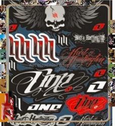 Good quality Motocross Stickers Motocross Motorcycle Car ATV Racing Bike Helmet Decal