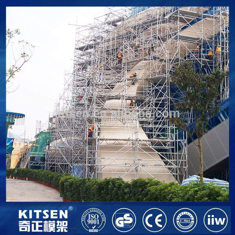 OEM Design flexible combination safety and ringlock scaffolding