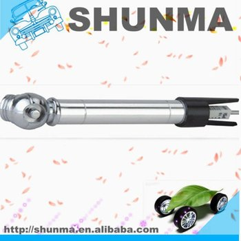 2 in 1 tyre gauge, with key-chain, plastic head with alu. body, SMT1308