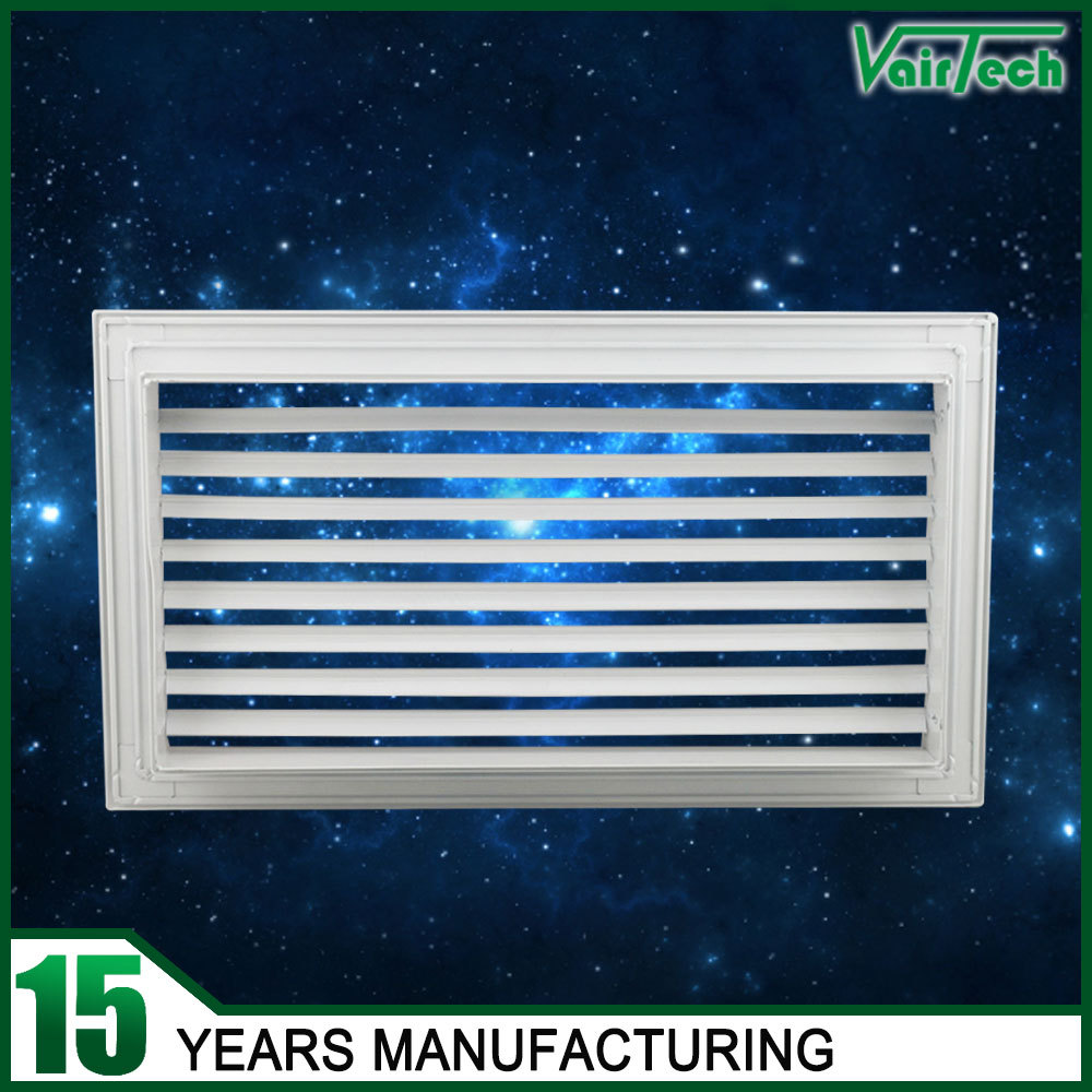Hot selling hvac airconditiong ceiling air deflector single adjustable louver grilles