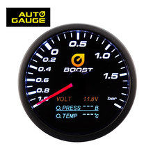 High Accuracy Custom Measure Analog and Digital OLED BAR Auto Car Boost Gauge