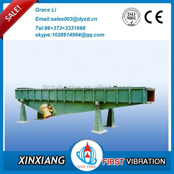 China manufacturer! DZS series motor vibration conveyor for small block material