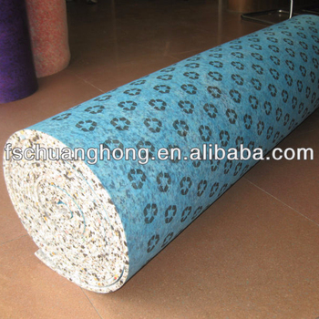 High quality carpet unerlay sell to Australia