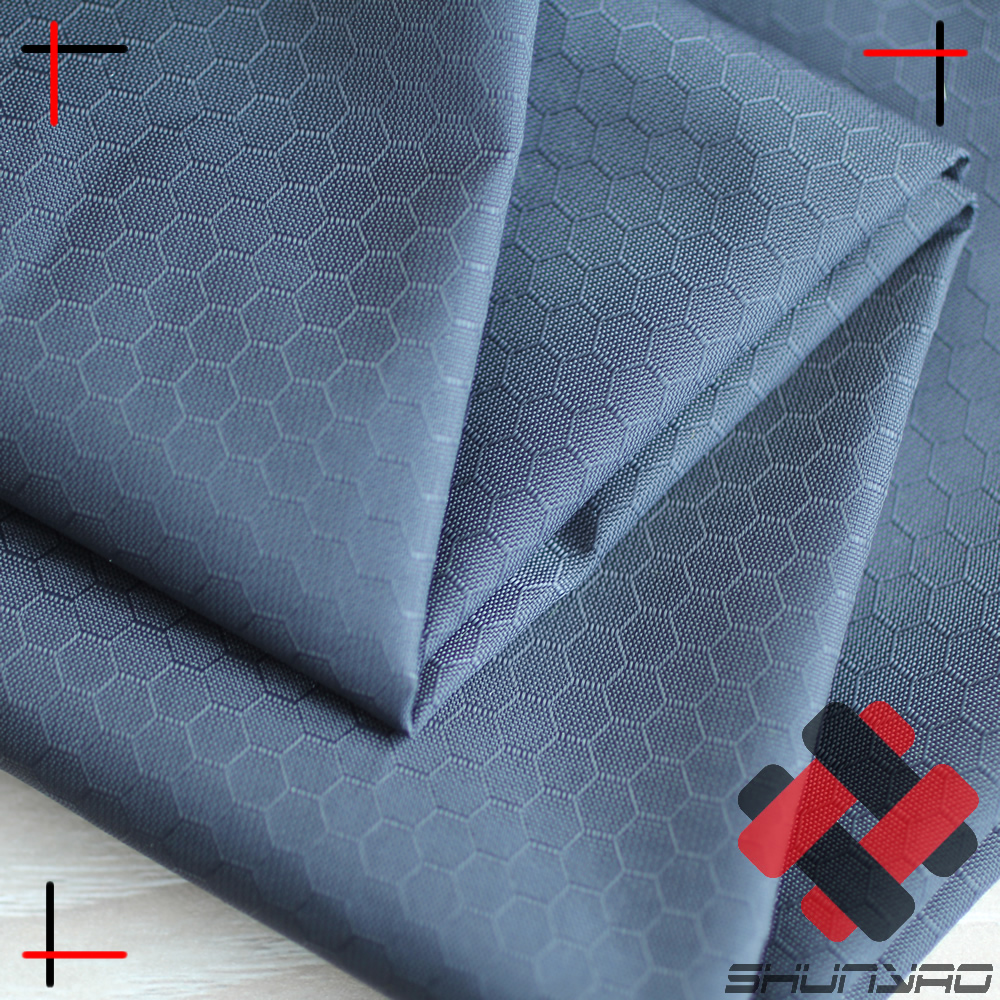 hexagon ripstop nylon fabric for ourdoor