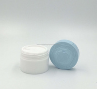 30ml 1oz Flower skin white jar