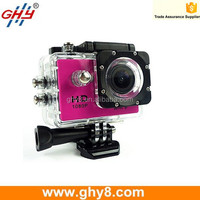 Mini Action Camera FHD 1080p 170 Degree 30M Waterproof Wifi Motorcycle Camera