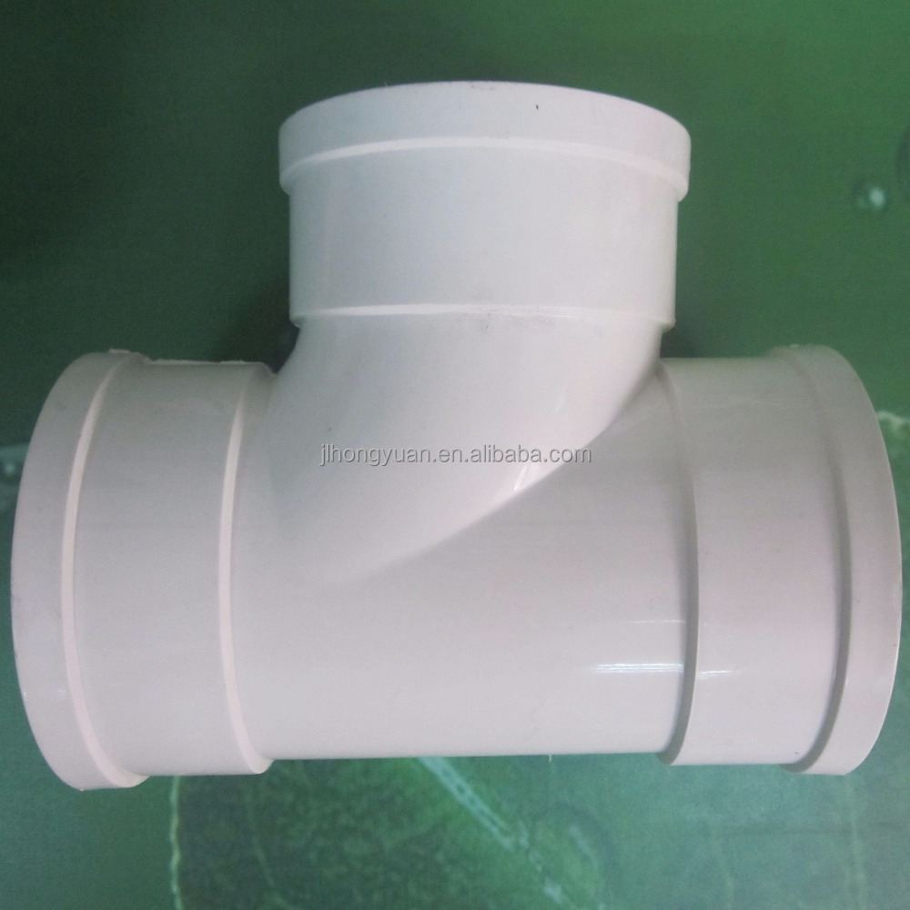 PVC pipe fittings/equal tee