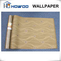 Howoo glue adhesive backed water-proof wallpaper