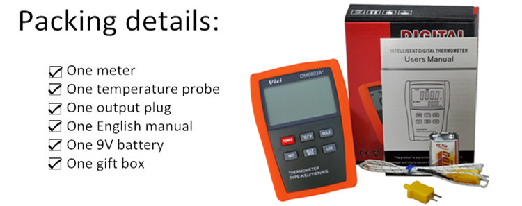 DM6803A+ industrial digital pyrometer