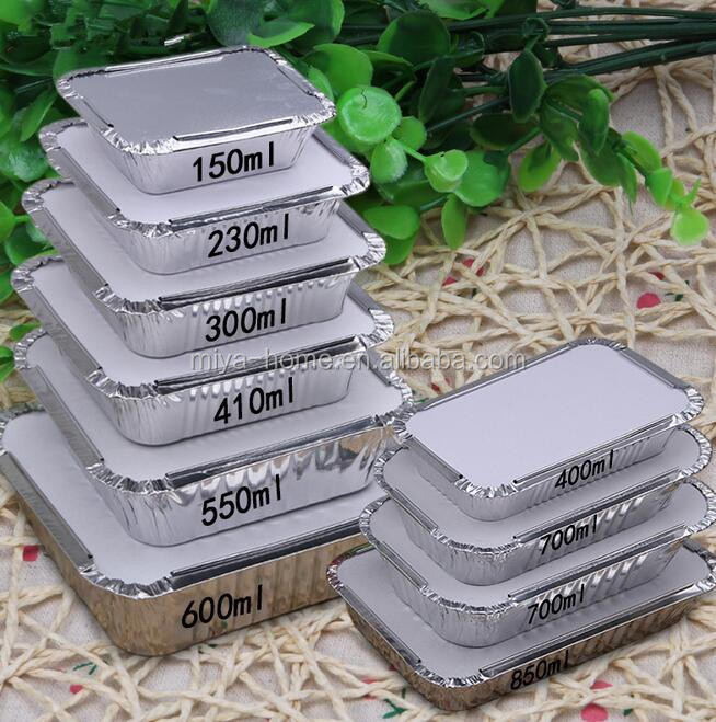 High quality food grade aluminium foil / aluminium foil barbecue tray / Disposable Household aluminium Foil Bowl