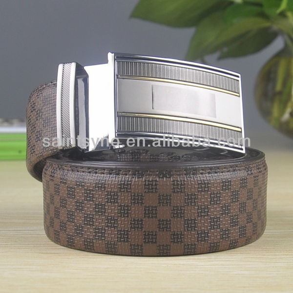 40 Personality simple genuine leather men's belt