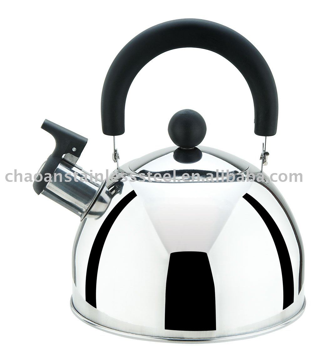 1.6L induction stainless steel whistling tea kettle