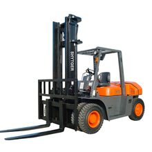 Counterbalanced 7 Ton Diesel used forklift in uae Tractor