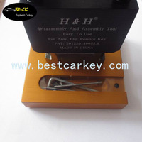 Factory sale Folding car key blade removal tool for h & h lock pick