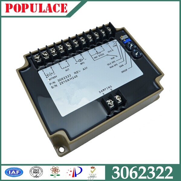China automatic speed controller 3044196 for diesel genpart