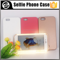 2016 Canton fair new products led light up Illuminated Selfie case for iPhone 5g 5s 6g 6s plus