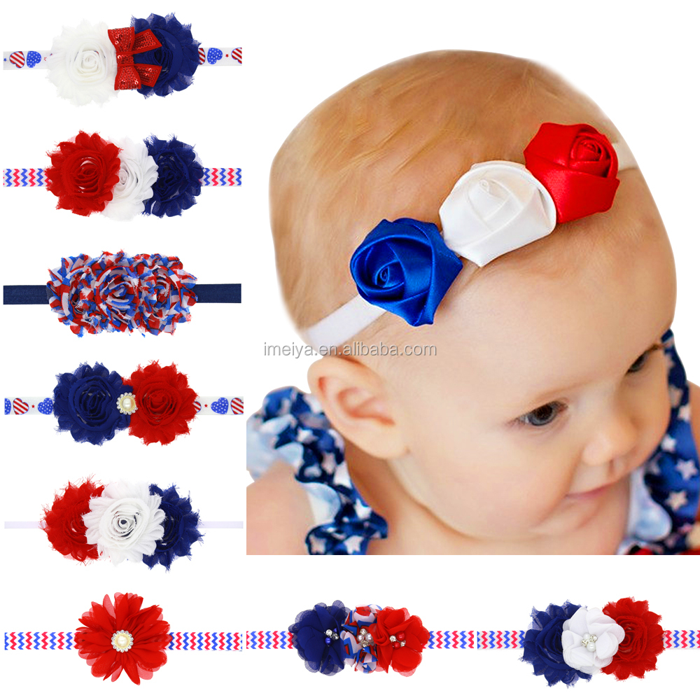 The United States National Day flower headband