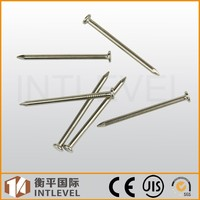 2015 Hot Sale Intlevel anic Plated Medium Carton steel standard concrete nails
