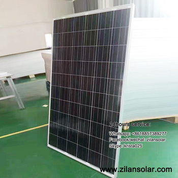 300W polycrystalline solar panel for hotel lights
