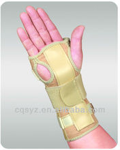 Adjustable sport palm support Leather Hand Guard