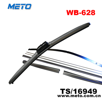 China factory rubber frameless windshield wiper