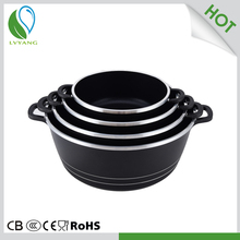 Eco-friendly steam cooking pot aluminum pot manufacturer