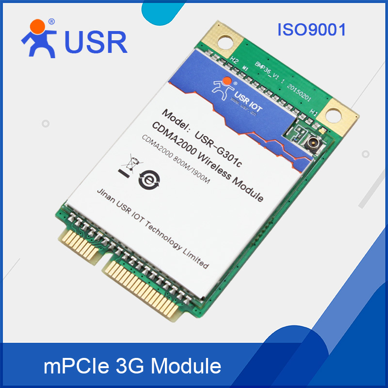 Cheap 3G Module with USB and UART Communication