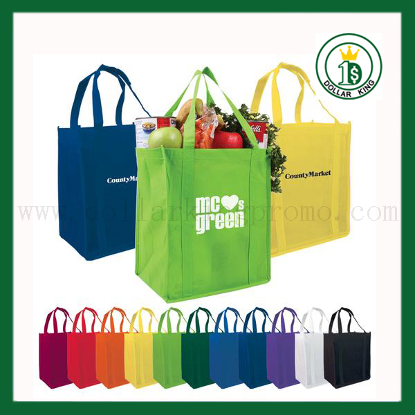 Colorful <strong>promotion</strong> 80g non-woven handled shoes bag