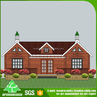 New Promotion Cheap price prefab modern wood house lithuania