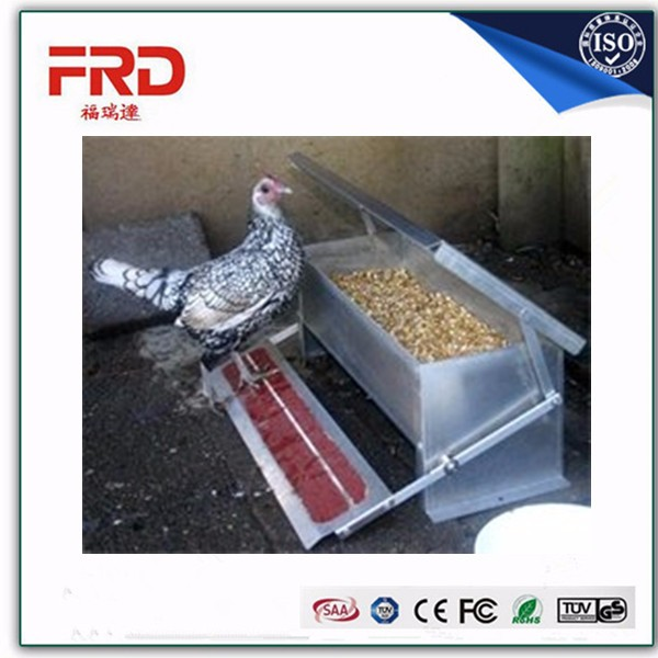 FRD-Strong Galvanized Rat Proof Chicken Hen Treadle Feeder For Australian people(whatsapp:+86-152 7570 9648)