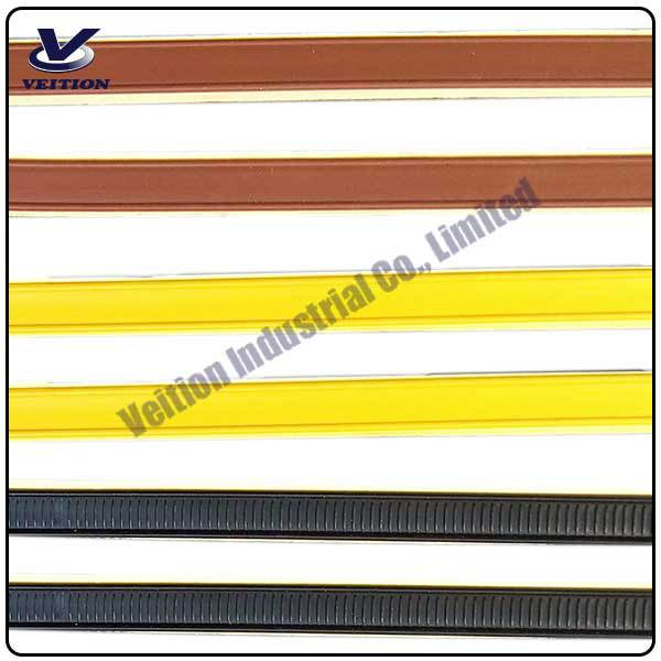 gold tin ties / adhesive tin ties / tin tie for coffee bag reclosed
